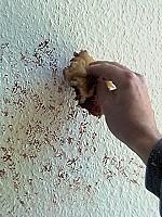 Tupftechnik die - Ausgefallene wandfarben ...