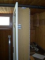 Tür einbauen - Holzzarge.