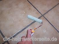 Fußboden Fliesen Spachteln ~ Fliesen überspachteln u203a die heimwerkerseite.de