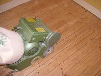 Dielenboden schleifen - Werkzeug