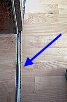Bergangsprofile und schienen f r laminat die for Boden ohne leisten