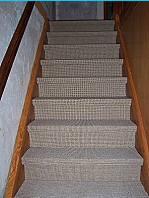 Die renovierte Treppe.