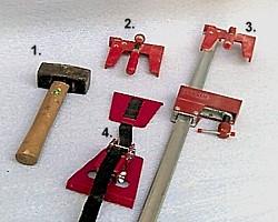 Verlegewerkzeug für Laminatverlegung