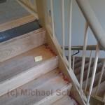 Die alte Treppe.