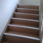 Treppe mit Holz belegen 8