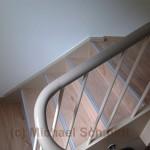 Treppe mit Holz belegen 9