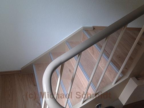 treppenrenovierung mit parkett oder laminat die. Black Bedroom Furniture Sets. Home Design Ideas