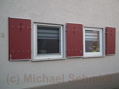 Fensterl den und klappl den selber bauen die - Fensterladen mit lamellen selber bauen ...