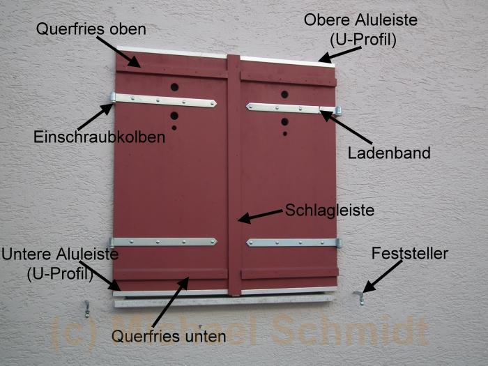 fensterl den und klappl den selber bauen die. Black Bedroom Furniture Sets. Home Design Ideas
