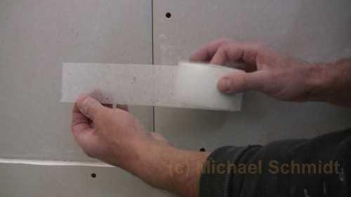 gipskartonplatten spachteln die