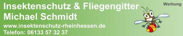 Insektenschutz Rheinhessen. Fliegen- und Pollenschutzgitter.
